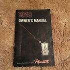 1959 Plymout Owner's Manual 1st Edition