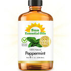 8 fl oz Essential Oil in Amber Glass, Free Shipping, 50+ Oils to Choose from