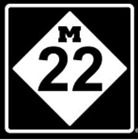M 22 Vinyl Decal Car Window Sticker You Pick The Size & Color