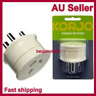 Korjo Adapter Adaptor Travel Plug Charger-from AU Australia to Inida & Sri Lanka