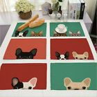 Cartoon Doggy Insulation Bowl Placemats Dining Pad Western Table Mats Sales