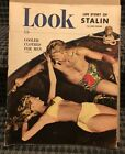 1948 June 8 Look Magazine Cooler Clothes For Men Great Cover Story & ADs  (PH1)