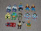 1990s Playmates TMNT Teenage Mutant Ninja Turles Lot of 13 Figures