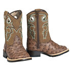 Внешний вид - Twister Double Barrel Brant Toddler and Kids Square Toe Western Boot NEW