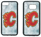 CALGARY FLAMES PHONE CASE COVER FITS iPHONE 6 7 8+ XS MAX SAMSUNG S7 S8 S9+ NOTE $13.5 USD on eBay