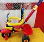 3 wheeler bike with seat belt parent guide stick.good condition