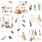 Feather Activity Toy Funny Cat Kitten Pet Teaser Teaser Wire Chaser Wand Toys