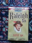 RALIEGH FILTER TIP - VINTAGE CIGARETTES PACK USA