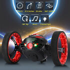 2.4GHz RC Jumping Car Bounce Car Robot Toys Flexible Wheels Rotation LED Light