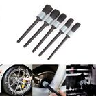 5 Sizes Car Detailing Brush Cleaning Natural Boar Hair Brushes Auto Detail Clean