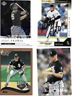 Baeball Autographed Cards  Sexon  Karchner Phelps  Leiter and 9 others