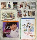American Girl Doll Girl Lot, Cards, Postcards, Hair Book, Story Writing, Pins