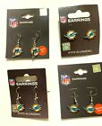 Miami Dolphins NFL Earrings~Choose Your Style: Post/Dangle Old & New Logo $5.99 USD on eBay
