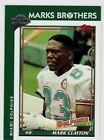 MARK CLAYTON {MIAMI DOLPHNS) card 2005 Topps All Time Fan Favorites #61