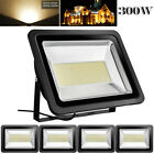 5X 300W LED Flood Light Warm White Landscape Spotlight Spot Lamp Floodlight IP65