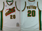 New Men's Seattle Supersonics #20 Gary Payton Basketball Jersey Retro White on eBay