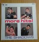 More Hits, The Shadows vinyl lp on blue black Colombia ex/vg