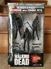 Michonne With Zombie Pets Bloody 3 Pack Waking Dead Action Figure McFarlane Toys