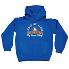 Funny Kids Childrens Hoodie Hoody - Leave Me Alone Im Only Talking To My Horse T