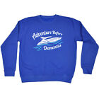 Sailing Childrens Sweatshirt Funny Jumper - Adventure Before Dementia Speedboa