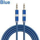 3.5 mm Male to Male M/M Jack Audio Stereo Aux Cable Cord Lead PC MP3 DVD Car