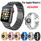 For Apple Watch iWatch 4 Stainless Steel Band Metal Link Bracelet Strap 40/44mm image
