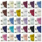 40 CM EASY CARE PLAIN DYED PERCALE KING SIZE DEEP FITTED SHEET image
