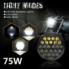 """2019 5-3/4"""" 5.75"""" Daymake LED Projector Headlight for Harley Davidso Motorcycle"""
