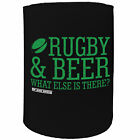 Stubby Holder - UU rugby and beer RUGBY FOOTBALL - Funny Novelty Birthday