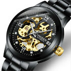 Men Watches Stainless Steel Mens Watch Automatic Mechanical Waterproof Wristwath