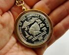 SOUTHERN UTE TRIBE 1974 NATIVE AMERICAN INDIAN SOVEREIGN 999 SILVER COIN Pendant