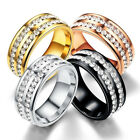 Health Weight Loss Fat Burning Slimming Rhinestone Magnetic Ring Jewelry Eager