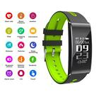 LCD Bluetooth Smart Bracelet Wristband Watch Heart Rate Monitor Blood Pressure
