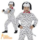 Kids Dalmatian Dog Costume Jumpsuit Girls Boys Child Fancy Dress Outfit Book Day