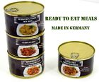 German Army MRE 400g Food Tinned Meal Military Rations Camping Outdoor Survival
