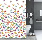 "1PC NEW BATHROOM BATH FABRIC SHOWER CURTAIN 70"" X 72"" WITH HOOKS READY TO HANG"