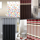 "Внешний вид - 1PC NEW BATHROOM BATH FABRIC SHOWER CURTAIN 70"" X 72"" WITH HOOKS READY TO HANG"