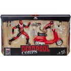 "DEADPOOL CROPS & SCOOTER ULTIMATE RIDER MARVEL LGENDS HASBRO 6 "" ACTION FIGURE"
