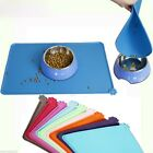 Silicone Pet Dog Dish Bowl Mat Placemat Puppy Cat Feeding Food Mat Pad Durable