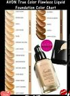 "AVON True Color Ideal Flawless Liquid Foundation  ""Pick your shade""  BRAND NEW"