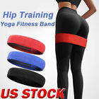 Resistance Bands Cotton Elastic Workout Gym Fitness Band Loop For Yoga Pilates image