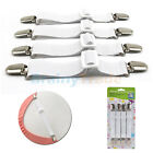 Lot of Adjustable Heavy Duty Bed Sheet Grippers Holders Cover Suspenders image
