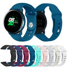 For Samsung Galaxy Watch Active Replacement Soft Silicone Sport Wrist Band Strap image