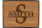 Funny Doormat Novelty Door Mat Birthday Home Office - INITIAL-SMITH