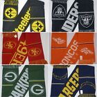 Brand New Winter NFl Scarves Packers/49ers/Steelers/Chargers/Raiders 60x7 Unisex $24.99 USD on eBay
