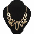 New Women Fashion Necklace Chunky Retro Jewellery Statement Costume Chain Gift