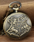 MENS POCKET WATCH CHAIN STEAMPUNK MECHANICAL STYLE SKELETON RETRO WATCHES UNISEX