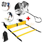 Agility Ladder & Resistance Parachute Explosive Power Speed Training equipment
