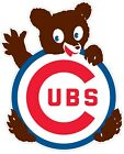 "Chicago Cubs MLB Cub Vinyl Decal - You Choose Size 2""-34"" on Ebay"