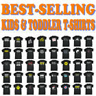 Kids Tshirt Funny Childrens Toddlers Tee Top T-Shirt SUPER VARIOUS DESIGNS BK9
